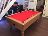 excel pool table 7ft x 4ft