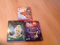 Disney & Barbie DVD Bundle (3 DVD's)