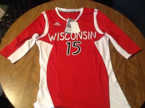 Adidas Wisconsin Badgers Volleyball Jersey