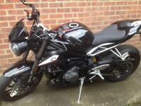 Black Street Triple RS Warning - this bike was stolen from Iver Bucks