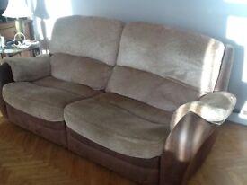 Four seater sofa.
