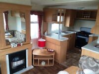 USED STATIC CARAVAN HOLIDAY HOME NORTH EAST NEAR NEWCASTLE HAGGERSTON TYNE AND WEAR AMBLE EYEMOUTH