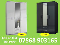 WARDROBE BRAND NEW ROBES WARDROBES CLEARANCE PRICES FAST DELIVERY 9