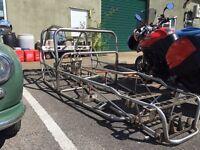 Custom built kit car chassis