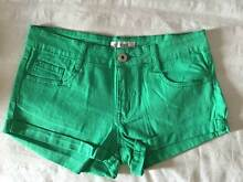 Green Denim Shorts Kyneton Macedon Ranges Preview