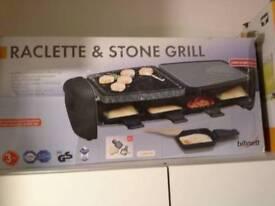 Racklett & stone grill