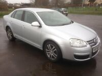 vw jetta 2.0 tdi se 140 2008/58 plate with 102k/service history and 12 months mot..
