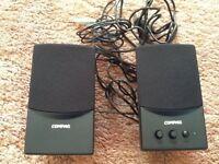 Compaq FLC Presario computer speakers