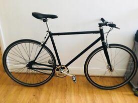 Single Speed Bike / Bicycle - black - ready to go