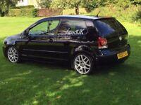 VW POLO 1.2 BLACK 3 DOOR 2006 - MODIFIED