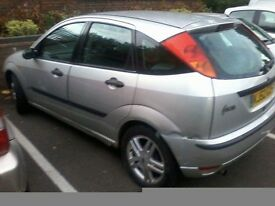 Ford focus running spares or repair mot 24th great car just rust hole sill passenger side