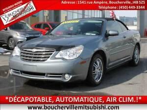 2010 Chrysler Sebring Touring *DECAPOTABLE, AUTOMATIQUE, AIR CLI