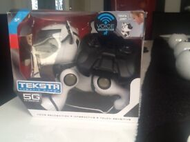Like new boxed texta the robot voice activated dog