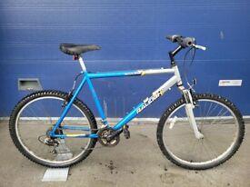 "Gents mountain bike RALEIGH ATTITUDE Wheels 26"" Frame 21"" BIG BIKE!"