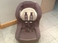 Lightweight group 1 car seat for newborn upto 4yrs-reclines,is washed and cleaned-£30