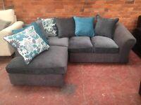 Ex Display Littlewoods Corner Sofa - Can Deliver