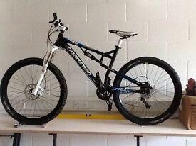 Boardman TXC650B full suspension mountain bike