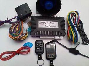 2 Way LCD Remote Start Car Alarm ,Immobiliser ,turbo timer,+inst. Albanvale Brimbank Area Preview