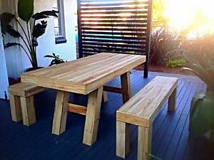 New  Table & Bench  Seats Nerang Gold Coast West Preview