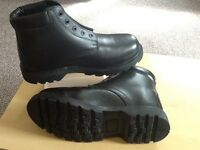 Brand New Tacconi Black Work Boots Size 8