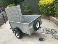 Ifor williams p5e TYPE trailer + ramp/spare wheel