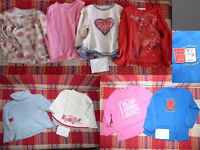 Girls Bundle of 39 Clothes for 2-3 years for sale.