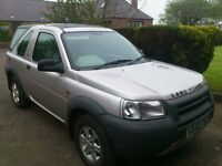 Freelander Spares or repair