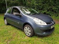 2006 RENAULT CLIO 1.2 IDEAL; CHEAP FIRST CAR CAR CHEAP ON FUEL TAX AND INSURANCE MOT UNTIL JUNE 2018