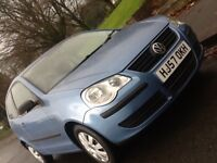 2008 VOLKSWAGEN POLO 1.2 E 3 DOOR WITH LOW LOW MILEAGE AND 12 MONTHS WARRANTY INCLUDED