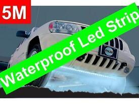 LED CAR LIGHTS WATERPROOF INTERIOR DECORATION DIY 5M LIGHT STRIPS 300 BULBS FLEXIBLE CAR AND HOME