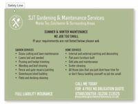 Garden & Home Maintenance