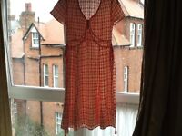 Boden viscose tea dress size 12 R very pretty
