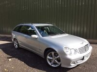 2005 MERCEDES C220 SPORT ESTATE AUTO * NEW MOT * NICE CAR