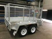 8x5 Tandem Galvanised Cage Trailer (Made in Geelong) North Geelong Geelong City Preview