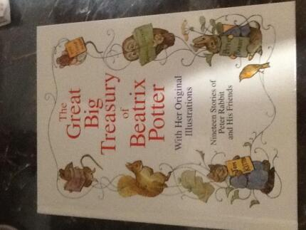 Beatrix potter children books x 3 childrens books gumtree the great big treasury of beatrix potter hardcover book sciox Image collections