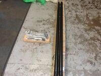 Volkswagen Transporter T5 LWB Black Side Bar Kit ZGB7H0071688C