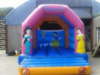 12 x 12 bouncy castle for sale as new