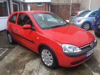 Vauxhall Corsa Active 1ltr low insurance 65k brand new mot