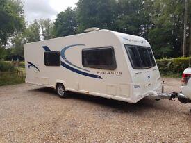 2013 Bailey Pegasus Milan 4 berth caravan MOTOR MOVER FITTED Awning BARGAIN !