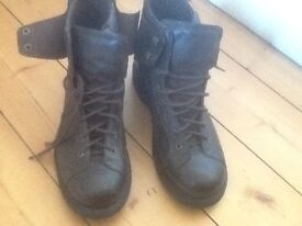 Mens cat boots brown leather brand new size 10