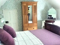 Large double room to rent in old period property (Monday to Friday or short term let)