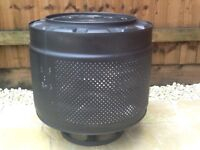 TWO washing m/c drums, ideal for fire pits, patio heating, BBQ's.