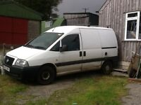 Scudo van for sale, what more can you say.