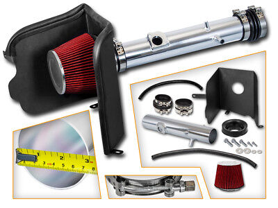 Cold Heat Shield Air Intake + RED Filter for 05-11 Tacoma 4.0L V6