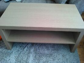 excellent condition tv unit with matching coffee table