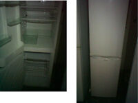 HOTPOINT FRIDGE FREEZER 63 INCHES HIGH (160cms) x 21.5 WIDE (54.6cms) PLEASE RING ONLY