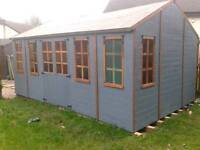 Summerhouse , Cabin. Large shed. 16ft x 13ft