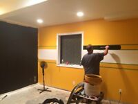 Commercial, Professional house painter