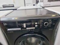 Beko black 7kg washing machine - 6 months warranty