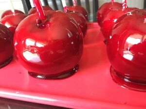 CANDY APPLES available now! 2018 season